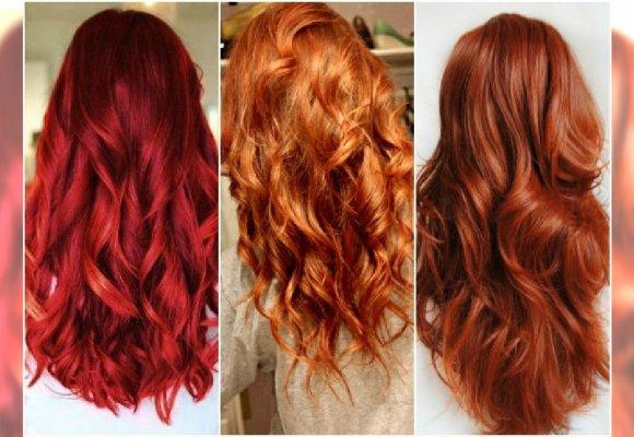 Modne Kolory Włosów Najlepsze Odcienie Rudości