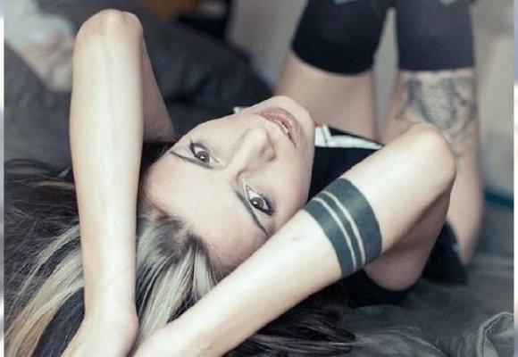 Arm Band Tattoo Nowy Trend W Tatuażu