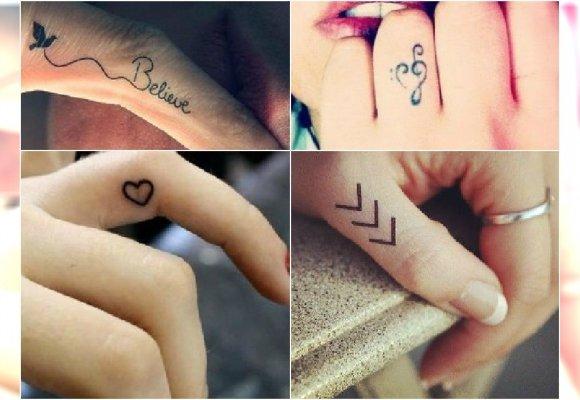 Tatuaż Na Palcu Wzory Małego Tatuażu Które Pokochacie