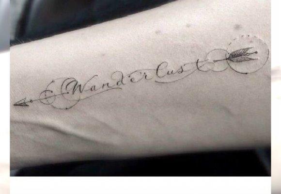 Tatuaż Typograficzny Najlepsze Napisy I Symbole