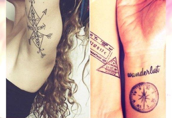 Kompas Pomysł Na Old Schoolowy Tatuaż