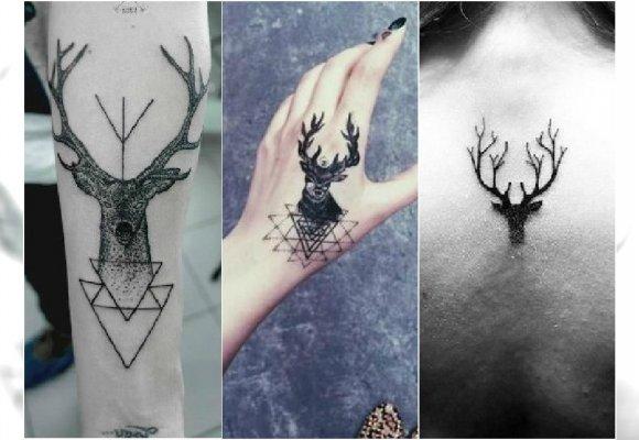 Hot Tatuaż Z Jelonkiem Modne Wzory Tatuażu Nie Tylko Dla
