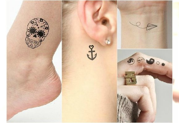 Słodkie Małe Tatuaże Dla Dziewczyn Wzory Na Nadgarstek