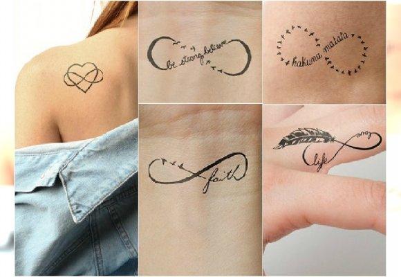 Tatuaż Symbol Nieskończoności Aż 30 Inspirujących Wzorów