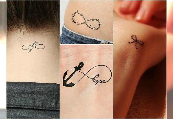 Mały Tatuaż Z Symbolem Nieskończoności 30 ślicznych Wzorów
