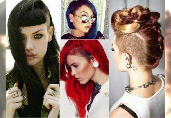 Wygolone Fryzury Dla Długich I Półdługich Włosów