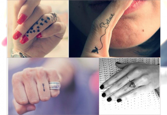 Wzory Tatuaż Na Palcu Zobacz Subtelny Sposób Na Czarujący