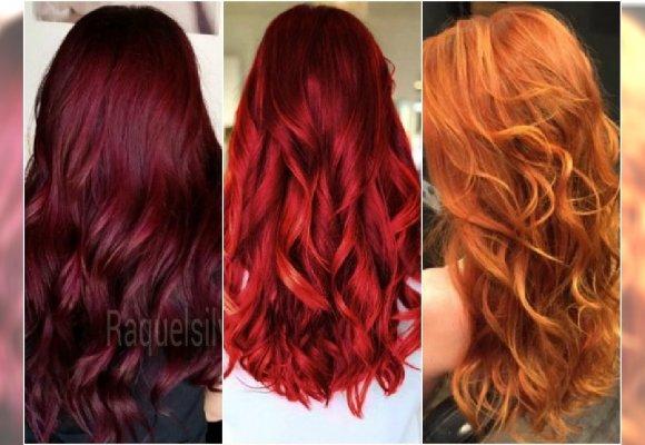 Modne Rude Kolory Włosów Na Jesień Galeria