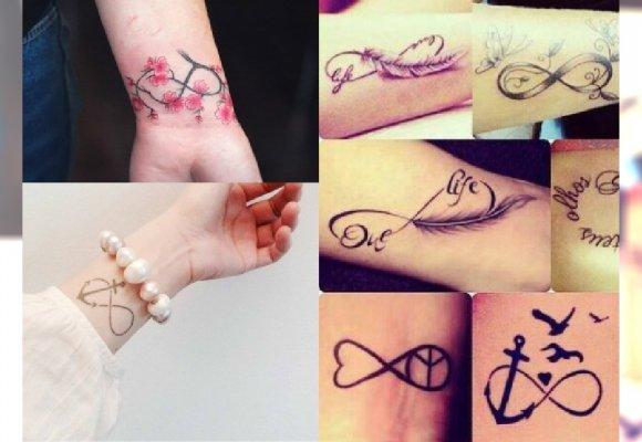 Tatuaż Z Symbolem Nieskończoności Najlepsze Wzory Z Instagrama