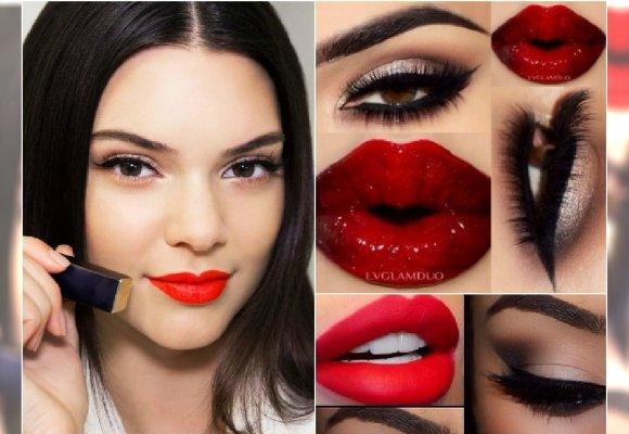 Romantyczny Makijaż Z Czerwonymi Ustami 15 Inspiracji Na Walentynki