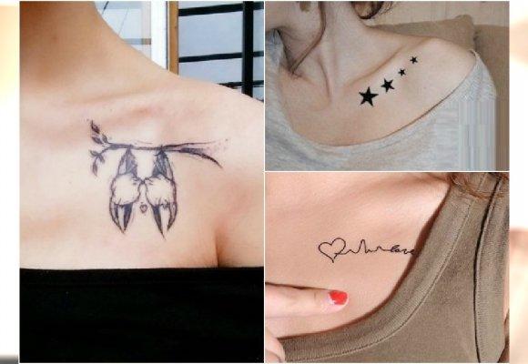 Tatuaż Na Obojczyku Wzory Które Idealnie Ozdobią To Miejsce