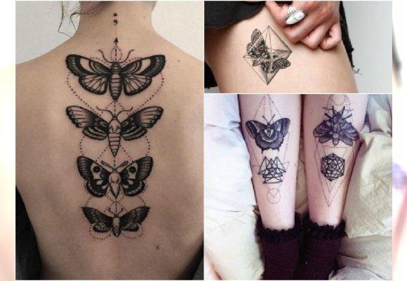 Tatuaż Z ćmą Te Wzory Są Hitem Galeria Najlepszych Inspiracji