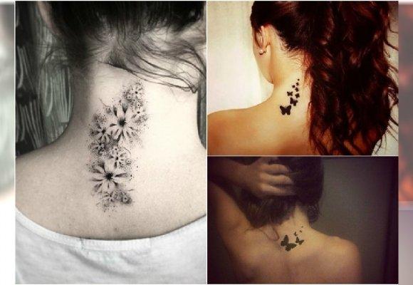 Tatuaż Na Karku Wzory Tak Urocze że Zechcecie Je Mieć Jeszcze