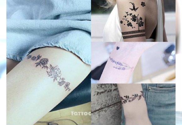 Opaska Z Kwiatów Ultrakobiecy Tatuaż Który Zdobi ładniej