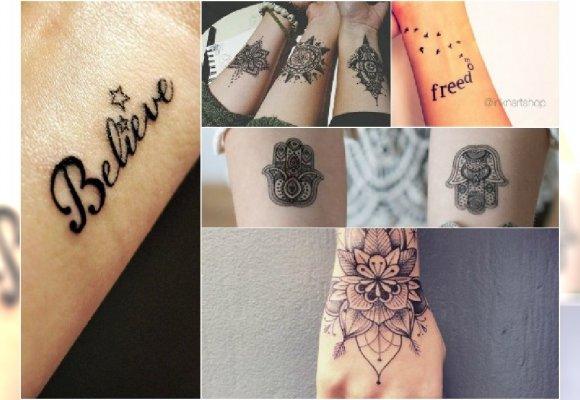 Tatuaż Na Ręce Wzory Na Nadgarstek Dłonie I Ramiona