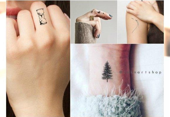 Ale Słodkie Małe Tatuaże Dla Dziewczyn Idealne Na