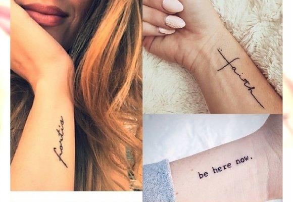 26 Pomysłów Na Stylowy Tatuaż Na Nadgarstku