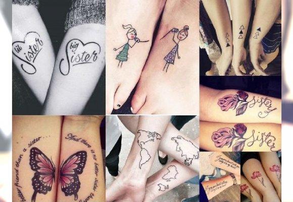 Hit Tatuażu Urocze I Dziewczęce Tatuaże Dla Sióstr I