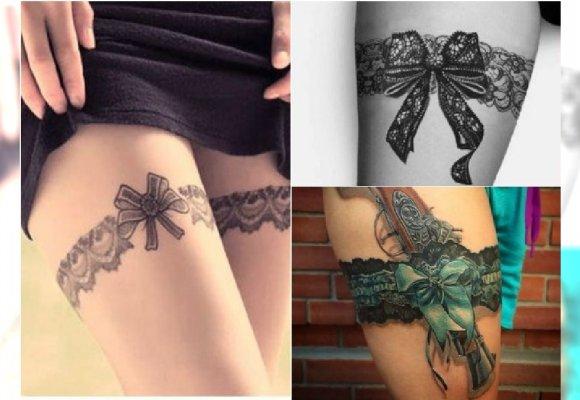 Seksowne Tatuaże Podwiązki I Gorsety Hit Czy Kit