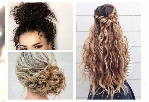 Top 20 Piękne Upięcia Dla Kręconych Włosów