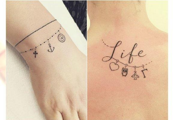 Charms Tattoo Tatuaż Z Zawieszkami Widziałyście Już Nowy