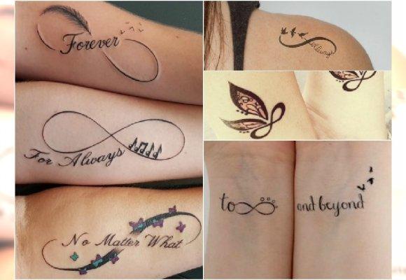 Tatuaż Z Symbolem Nieskończoności Z Jakim Motywem Go