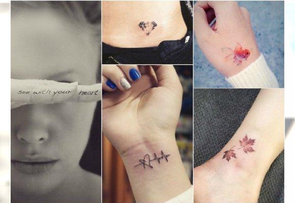 Małe Tatuaże Delikatne Słodkie Wzory Dla Dziewczyn