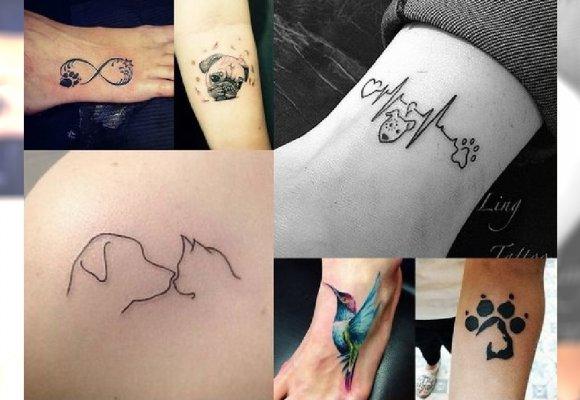20 Wyjątkowych Tatuaży Dla Miłośników Zwierząt Urocze