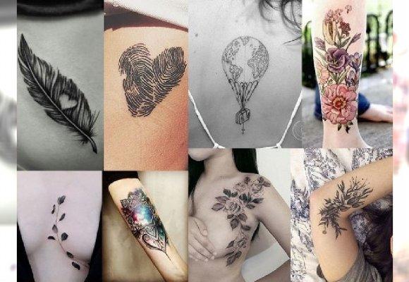 30 Pomysłów Na Niesamowicie Kobiecy Tatuaż Poznaj Najnowsze