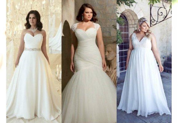 7b486ca9870327 Najpiękniejsze suknie ślubne dla puszystych. Galeria z najpiękniejszymi  propozycjami