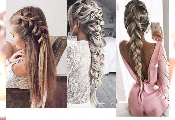 Niesamowicie Eleganckie Fryzury Studniówkowe Dla Długich Włosów