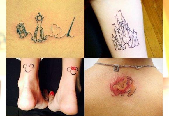 Magiczne Tatuaże Inspirowane Bajkami Disneya Idealne Dla