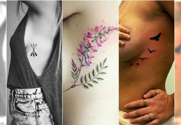 Hit Tatuaż W Okolicy Biustu Te Wzory świetnie Ozdobią To Miejsce