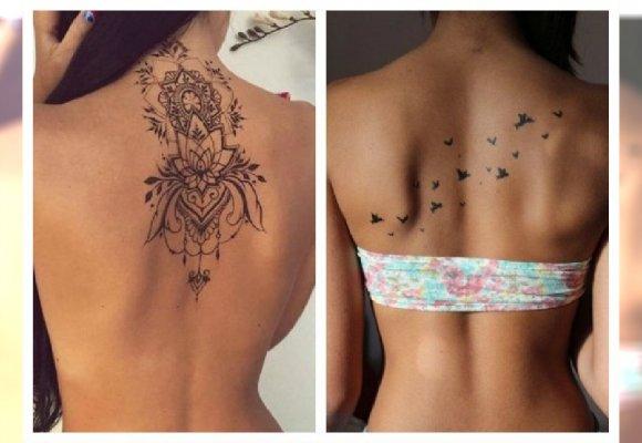 Stylowe Tatuaże Na Plecach Dla Kobiet Znajdź Wzór Dla Siebie