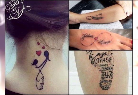 Tatuaż Dla Mamy Wzory Z Imionami Dzieci Symbolem