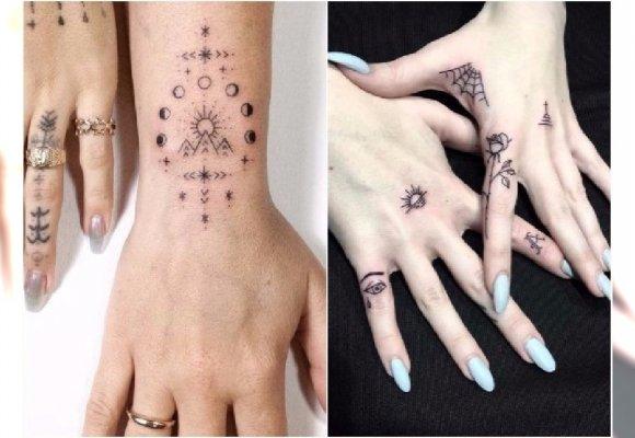 Stick Poke Tattoos Te Małe Tatuaże Robią Furorę Są