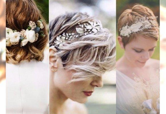 Fryzury ślubne Dla Właścicielek Krótkich Włosów Zobacz