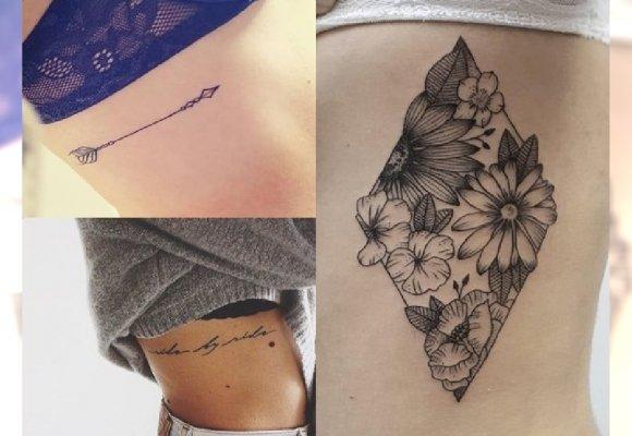 Przegląd Top 21 ślicznych Tatuaży Dla Kobiet Na żebra
