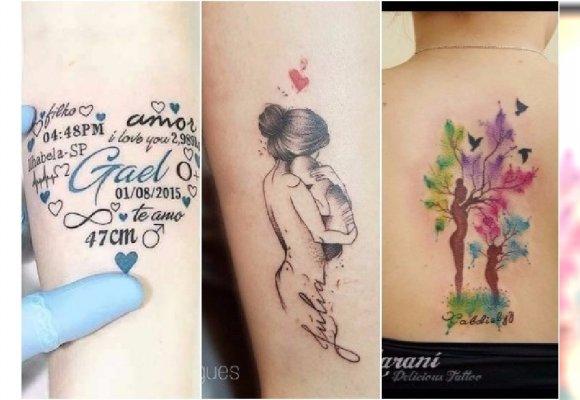 Mamy Pokazują Swoje Tatuaże Wzory Z Imieniem Dziecka To Nie Jedyny