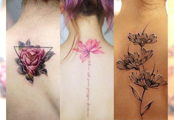 Najpiękniejsze Tatuaże Na Plecy Delikatne Kobiece Motywy