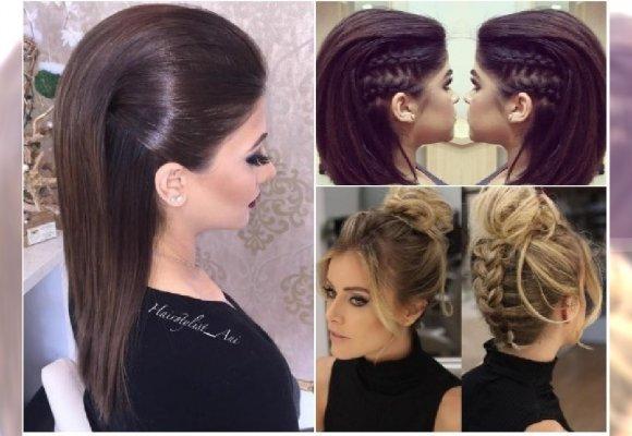 Eleganckie Fryzury Na Sylwestra Dla Długich I średnich Włosów