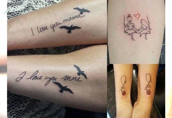 Tatuaże Dla Mamy I Córki 20 Wzorów Podkreślających Tą
