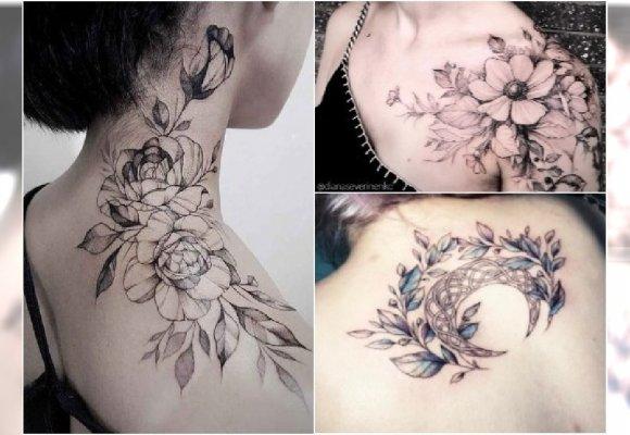 Najpiękniejsze Tatuaże Na Ramiona Dekolt I Plecy Te Wzory
