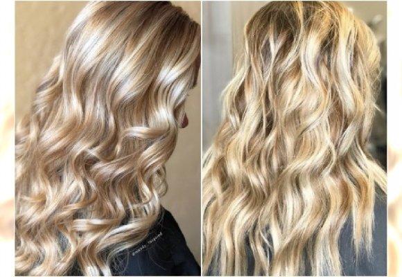 Blond Stare Złoto Modny Kolor Włosów Dla Wielbicielek