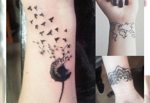 Tatuaż Na Nadgarstku 22 Najładniejsze Wzory Które