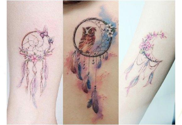 Tatuaż Dreamcatcher łapacz Snów Ten Motyw Nigdy Się Nie