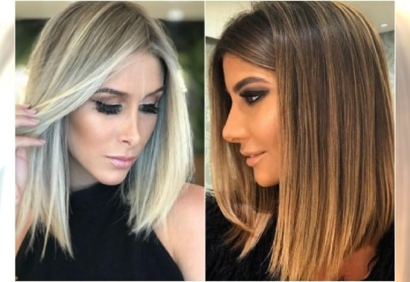 średnie Włosy I Modna Koloryzacja Blond Tak Wyglądają
