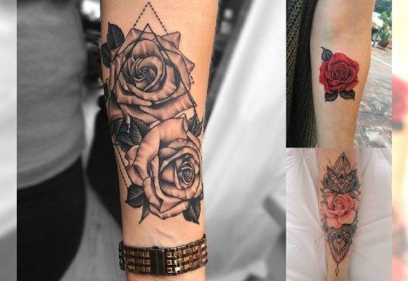 Kobiece Tatuaże Z Motywem Róży To Prawdziwy Hit Galeria