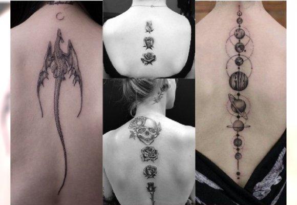 Tatuaż Na Kręgosłupie Podsuwamy Pomysły Na Oryginalną
