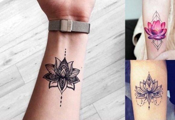 Kwiat Lotosu Galeria Hipnotyzujących I Pomysłowych Tatuaży